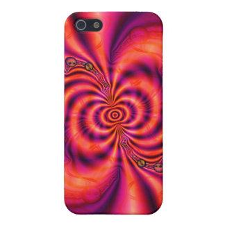 Zelluläre Spirale ausgebuffter iPhone 5C Fall iPhone 5 Case
