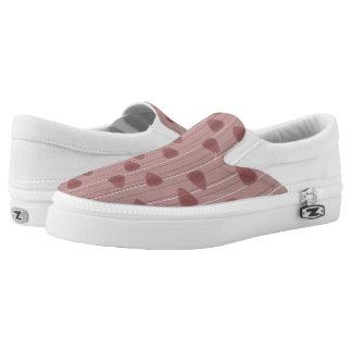 Zellulärer Aufenthaltsraum - rotes Mono Slip-On Sneaker