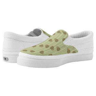 Zellulärer Aufenthaltsraum - Taupe Slip-On Sneaker