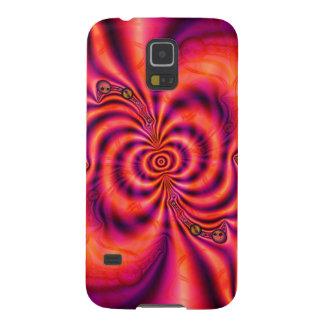 Zellulärer Spiralarm-Verbindungs-Fall Samsung S5 Hüllen
