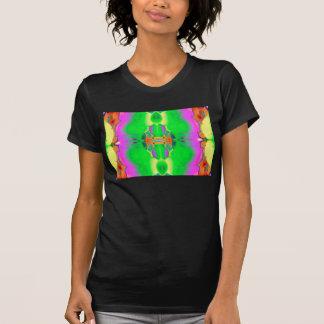 """Zelluläres 6"" abstrakter psychedelischer Kunst-T T-Shirt"
