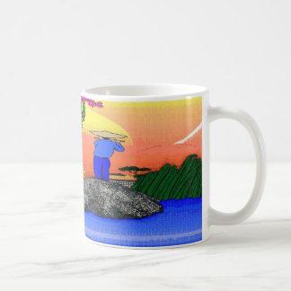 Zen-Flöte Kaffeetasse