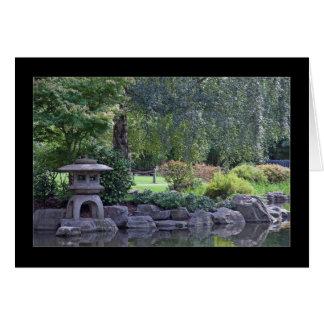 Zen-Garten-Landschaft Karte