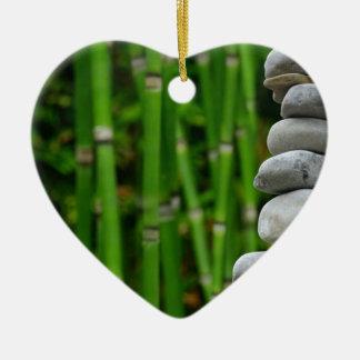Zen-Garten-Meditations-Mönch entsteint Keramik Ornament