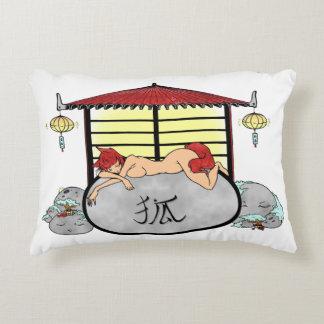 Zen japanese Mangatempel Dekokissen