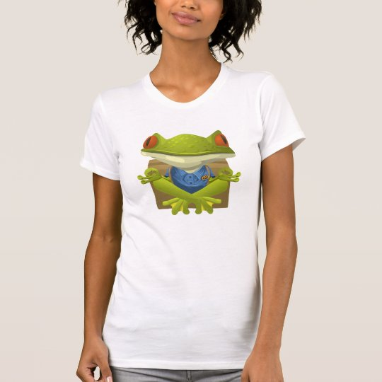 Zen-meditierendes Frosch-Shirt T-Shirt