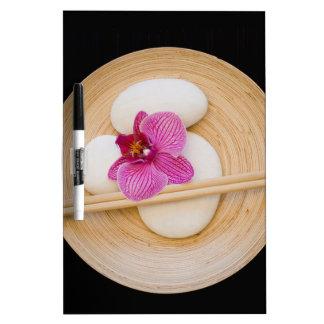 Zen-Orchidee Trockenlöschtafel
