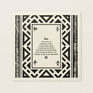 Zen Papierservietten