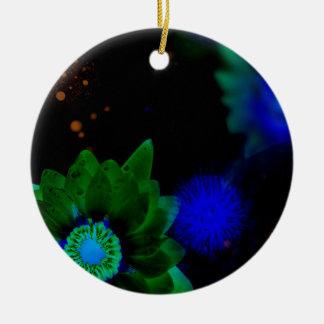 Zen-Stärken-Lotos-Blume Keramik Ornament