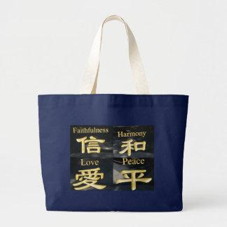 Zen-Tasche Jumbo Stoffbeutel