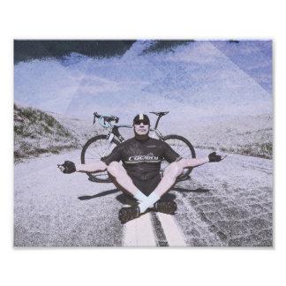 Zen und die Kunst des Radfahrens Fotodruck