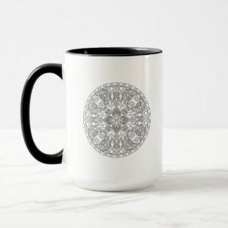 Zendala Entwurf Tasse