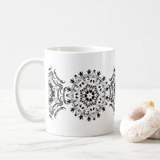 Zentangle Muster Kaffeetasse
