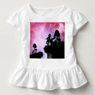 Zentaur-Silhouette in der Nacht Kleinkind T-shirt