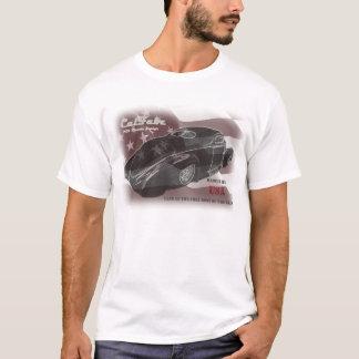 Zephyr-Zurück-FLAGGE-USA T-Shirt