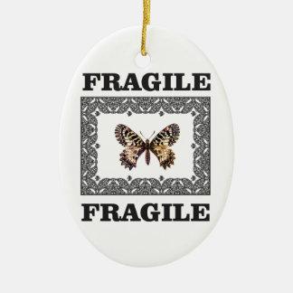 zerbrechlicher Schmetterling Keramik Ornament