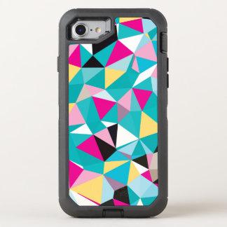 Zerbrochenes geometrisches Muster OtterBox Defender iPhone 8/7 Hülle