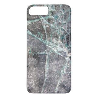 Zerbrochenes Glas iPhone 8 Plus/7 Plus Hülle