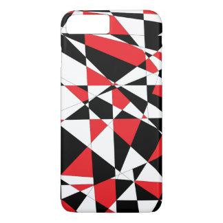 Zerbrochenes Leben Tricolor iPhone 8 Plus/7 Plus Hülle