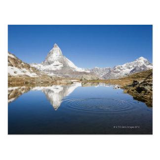 Zermatt, die Schweiz Postkarte