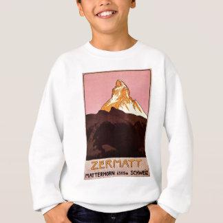 Zermatt die Schweiz Sweatshirt
