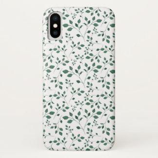 Zerstreutes Aquarell-nahtloses mit Blumenmuster iPhone X Hülle