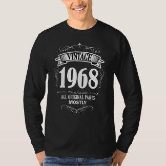 Zerteilt lustige 50. Vorlage Vintage 1968 Shirt