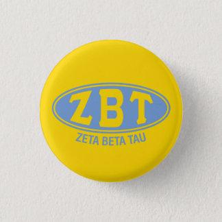 ZetabetaTau | Vintag Runder Button 3,2 Cm