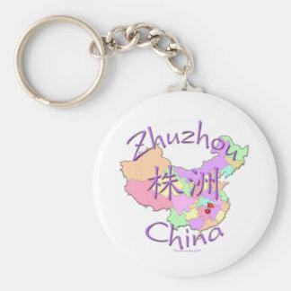 Zhuzhou Chine Porte-clé