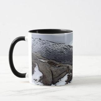 Ziege fiel Tasse
