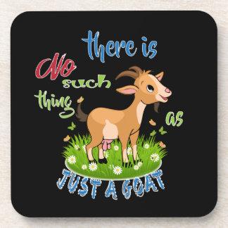 ZIEGE Liebhaber | gerade eine Ziege GetYerGoat™ Getränkeuntersetzer