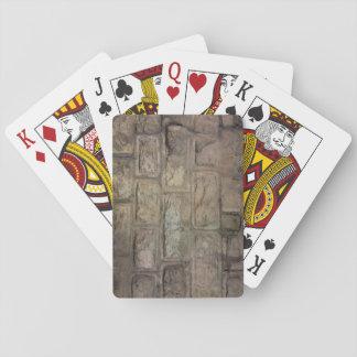 Ziegelstein-Spielkarten, Standardindexgesichter Spielkarten