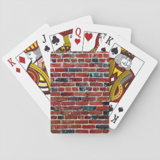 Ziegelsteine - cooler Spaß einzigartig Spielkarten