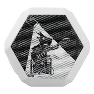 Ziegen-Gitarrist Weiße Bluetooth Lautsprecher