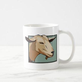 Ziegen-Kopf Kaffeetasse