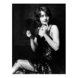 Ziegfeld Unsinnigkeits-Mädchen-Postkarten Postkarte