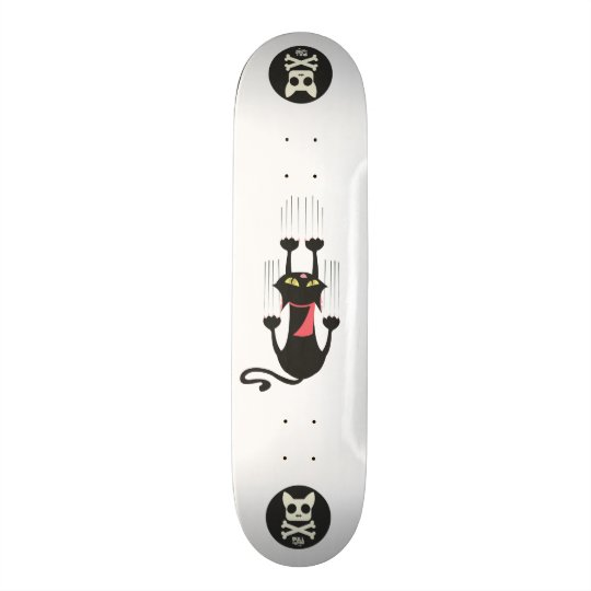 Ziehen Sie meine Tatze - Kickflip Brett Personalisiertes Skateboarddeck