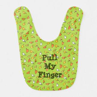 Ziehen Sie meinen Finger-Schellfisch Lätzchen