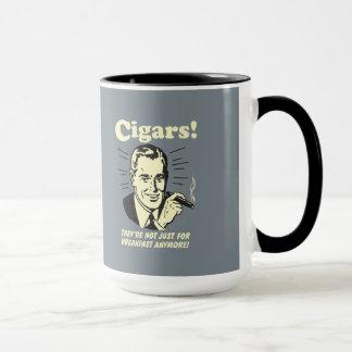 Zigarren: Nicht gerade Frühstück mehr Tasse