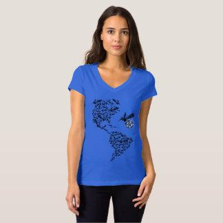 Zika im Amerika T-Shirt