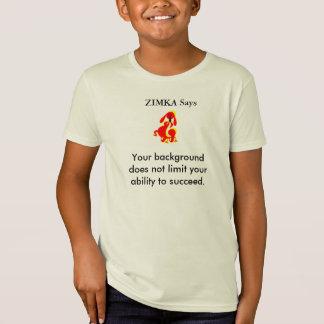 ZIMKA sagt Bio T - Shirt der Kinder amerikanisches