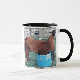 Zimt das Lama in der Wassereimer-Tasse Tasse