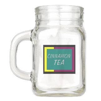 Zimt-Tee-Weckglas Einmachglas