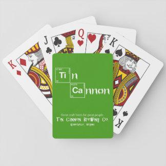Zinn-Kanonen-Periodensystem-Spielkarten Spielkarten