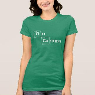 Zinn-Kanonen-periodische Tabellen-Shirt - Damen T-Shirt
