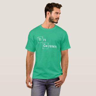 Zinn-Kanonen-periodische Tabellen-Shirt T-Shirt