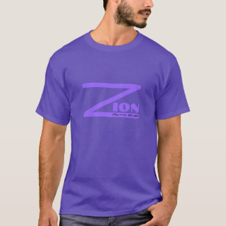 Zion lila Taten-2:38 T-Shirt