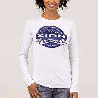 Zion Mitternacht Langarm T-Shirt