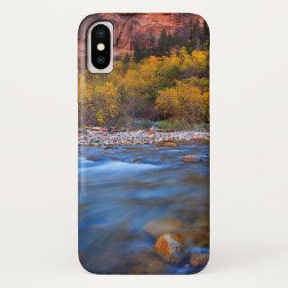 Zion Nationalpark-Fluss iPhone X Hülle