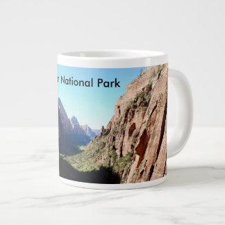 Zion Nationalpark-Kaffeetasse Jumbo-Tasse